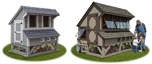 Chicken Condos from Pine Creek Structures