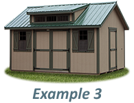 Shed Door and Window Layout Example 3