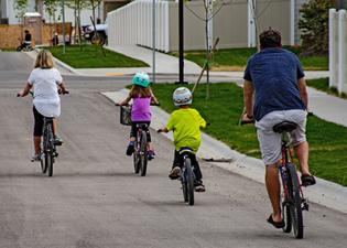 Family bicycles