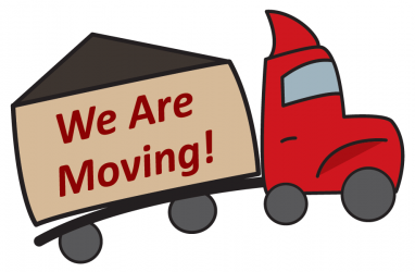 Moving Soon Truck Graphic