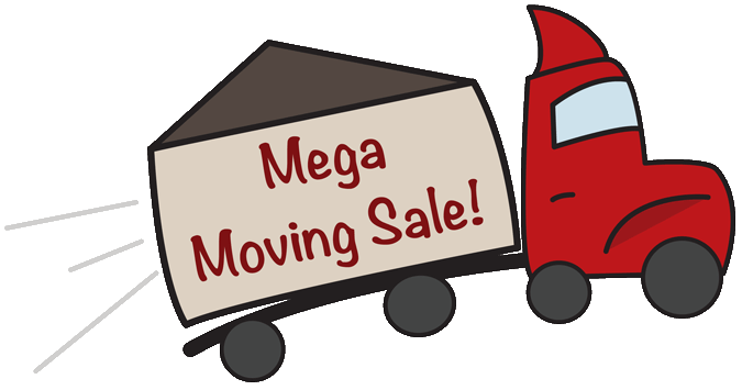 Erie, PA mega moving sale - all structures on sale