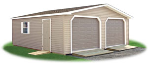 two car modular garages