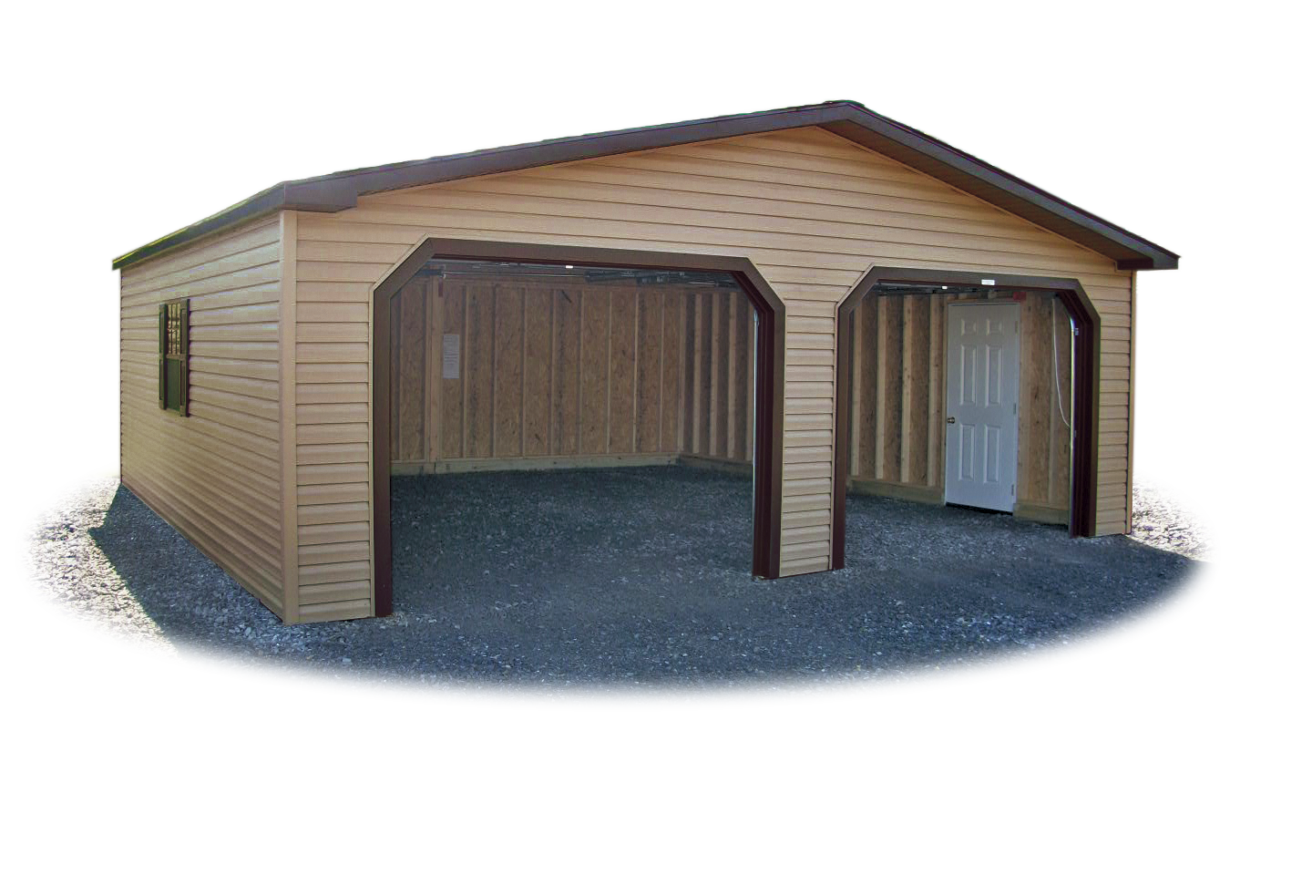 2 Car Modular Garages Pine Creek Structures