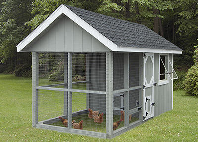 6x12 Chicken Coop from Pine Creek Structures