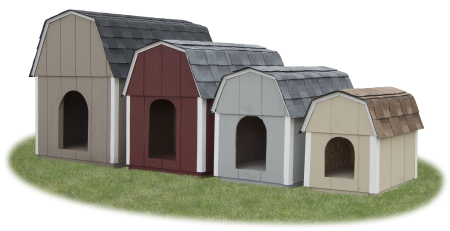 Dog Boxes in four sizes and four colors