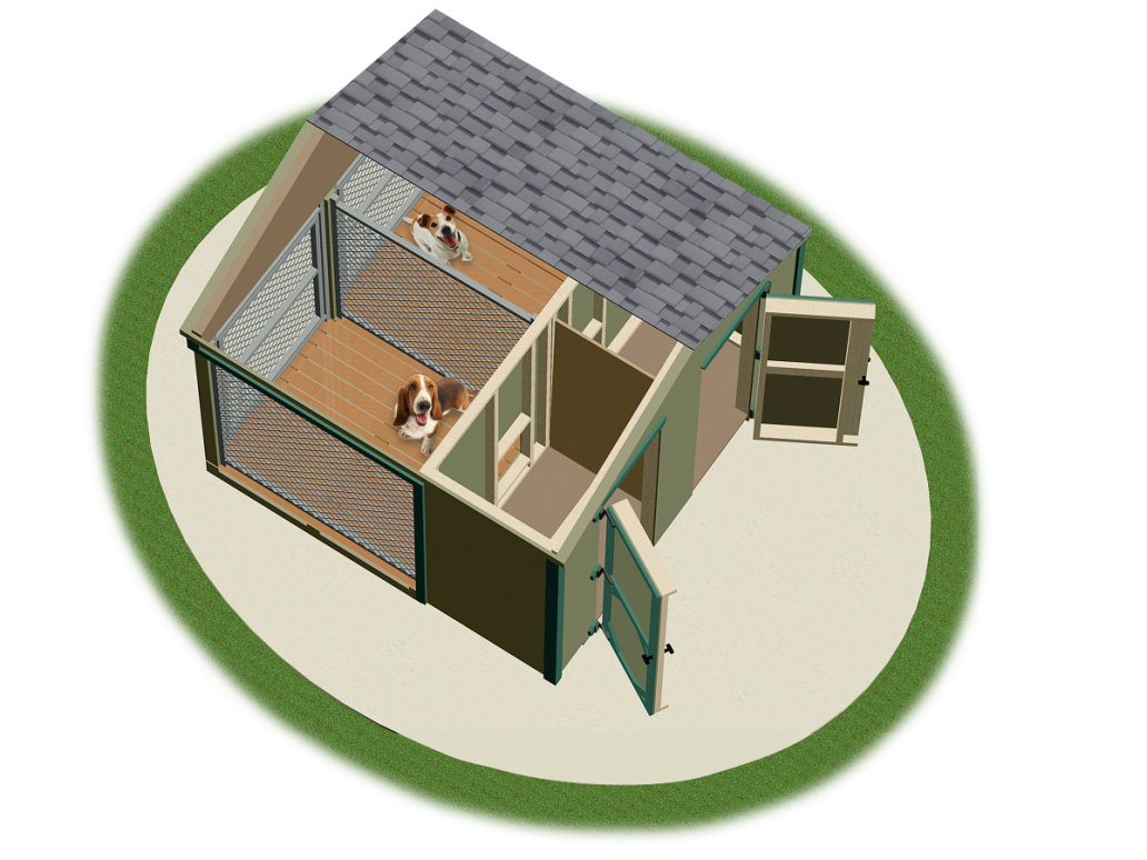 Dog Run Kennel Plans