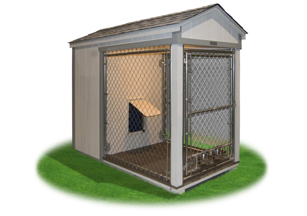 4x8 single kennel