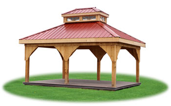 custom pavilion built by Pine Creek Structures
