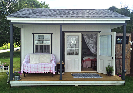 Custom Cottage Shed Shed Cabin built by Pine Creek Structures
