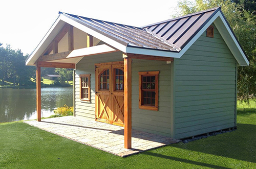 Highly Customized Built On Site Cabin built by Pine Creek Structures