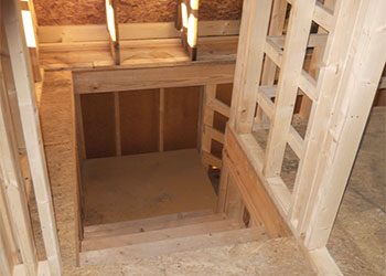 Penns Cabin Stairs