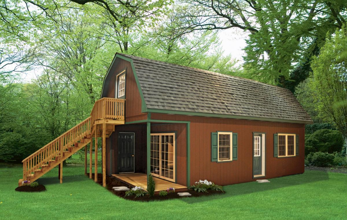 Getaway cabins pine creek structures for Getaway cottage