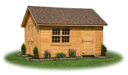 10 x 14 Cedar Sided Cape Cod Storage Shed