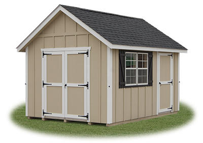 10 x 14 LP Board 'N' Batten Cape Cod Storage Shed from Pine Creek Structures