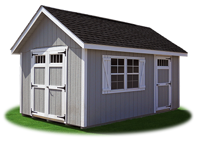 10 x 16 LP Cape Cod Shed