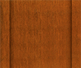 country cedar stain color sample for board and batten siding