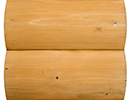fir pine stain color sample for log siding