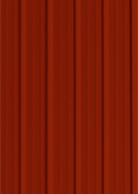 Rural Red color sample for metal roofing