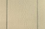 beige paint color sample for LP smart panel, duratemp siding, wood trim, wood shutters, wood doors, and wooden flower boxes