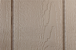 PC Clay paint color sample for LP smart panel, duratemp siding, wood trim, wood shutters, wood doors, and wooden flower boxes