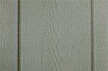 PC Green paint color sample for LP smart panel, duratemp siding, wood trim, wood shutters, wood doors, and wooden flower boxes