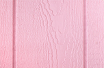pink paint color sample for LP smart panel, duratemp siding, wood trim, wood shutters, wood doors, and wooden flower boxes