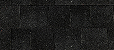 Charcoal color sample for lifetime architectural shingles