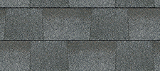 Fox Follow Grey color sample for lifetime architectural shingles