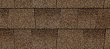 Shakewood color sample for lifetime architectural shingles