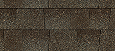 Weatherwood color sample for lifetime architectural shingles