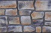 Old Town color sample for stone masonry