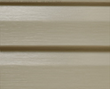 Basket Beige optional color sample for lifetime vinyl siding