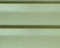 Concord Green optional color sample for lifetime vinyl siding