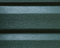 Conntry Side Green optional color sample for lifetime vinyl siding