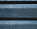 Hampton Blue optional color sample for lifetime vinyl siding