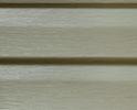 Soft Willow optional color sample for lifetime vinyl siding