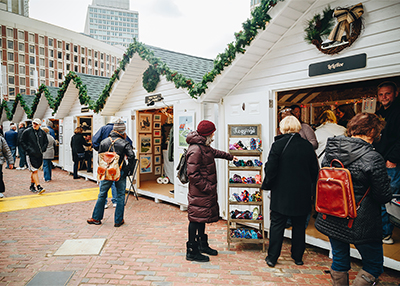Boston Christmas Village Vendor Units
