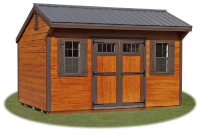 10x14 LP Shiplap Sided Cottage Storage Shed From Pine Creek Structures