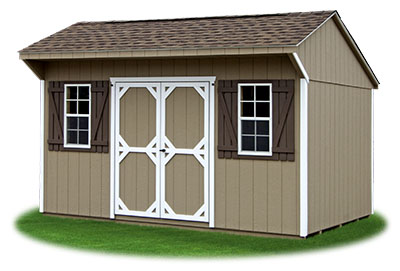 10x14 LP Sided Cottage Storage Shed From Pine Creek Structures