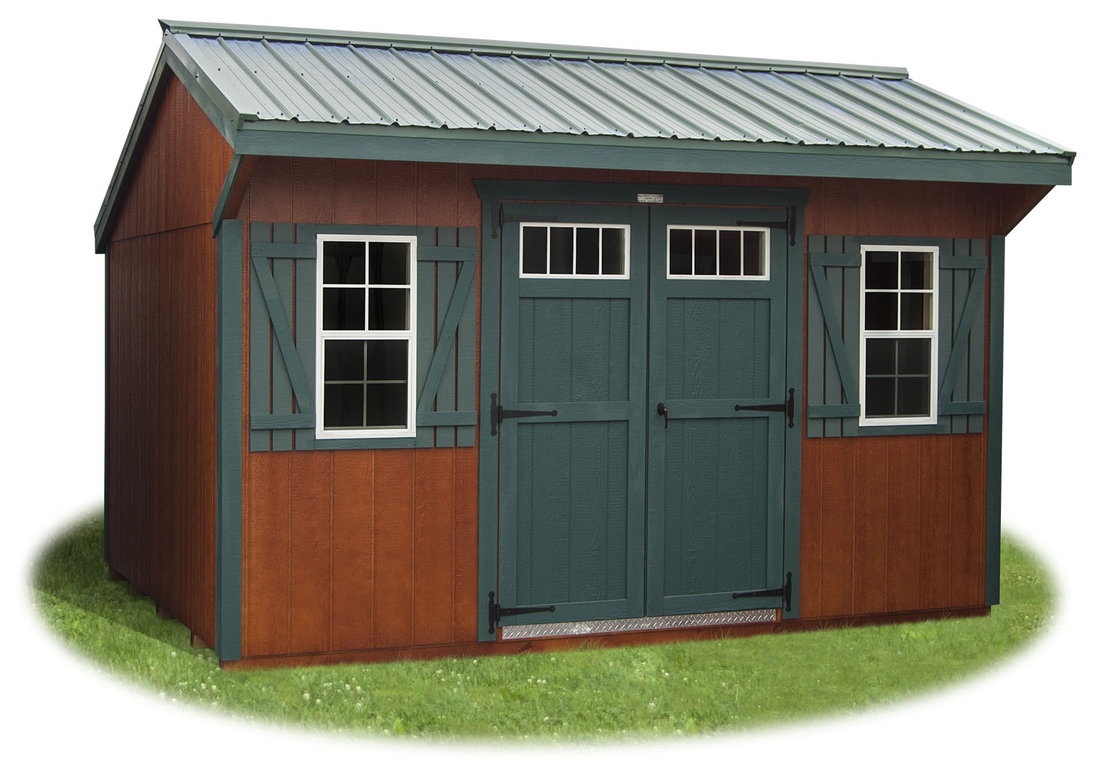 10x16 LP Sided Cottage Storage Shed From Pine Creek Structures  sc 1 st  Pine Creek Structures & Cottage Style Storage Sheds | Pine Creek Structures
