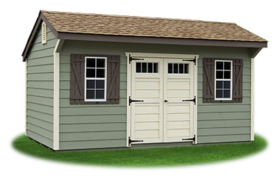 10x16 LP Shiplap Sided Cottage Storage Shed From Pine Creek Structures