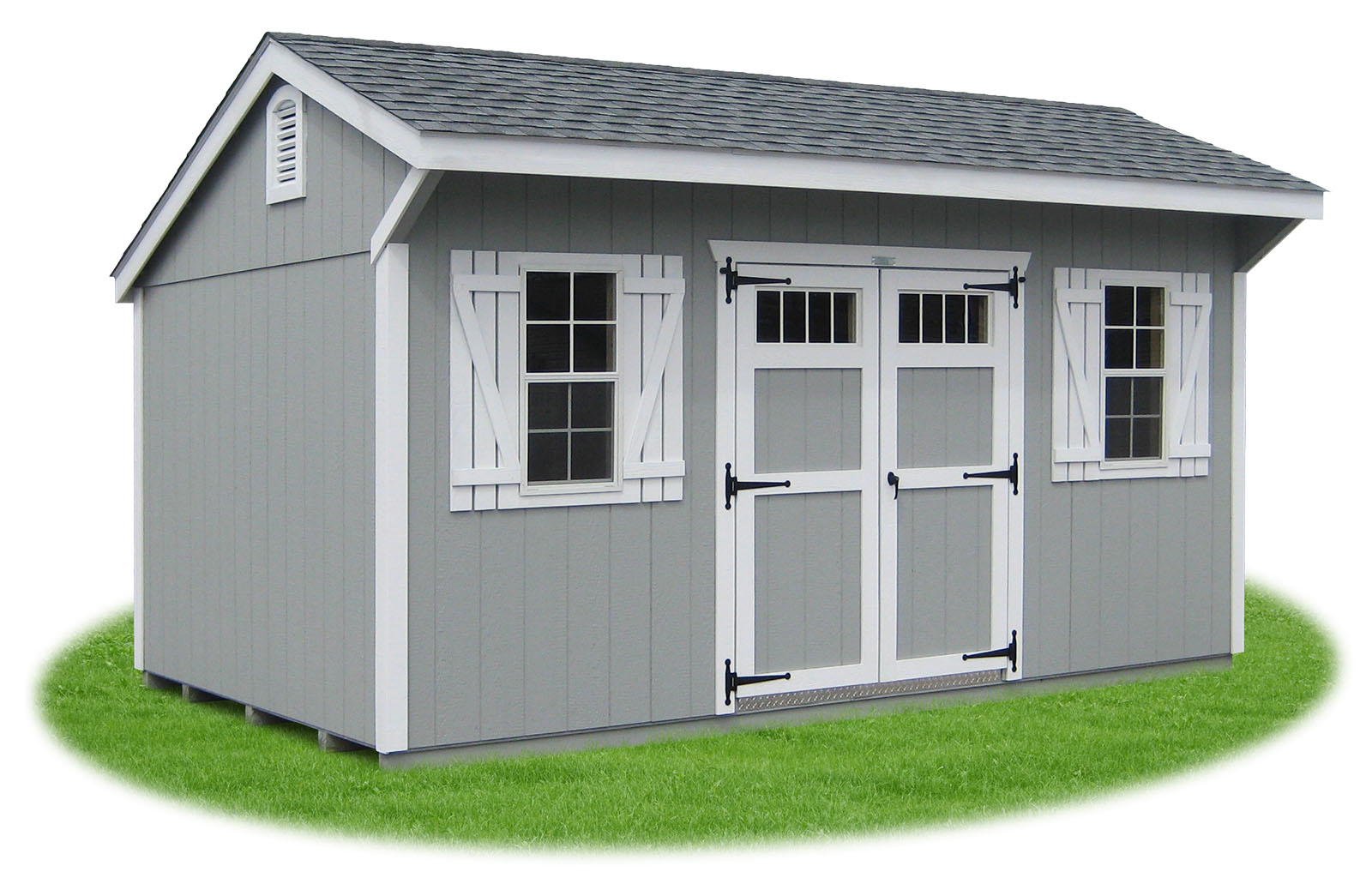 Delicieux New England Style Cottage Storage Shed