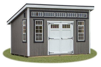 Custom Lean To Style Building built by Pine Creek Structures
