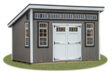 Custom Lean To Style Shed from Pine Creek Structures