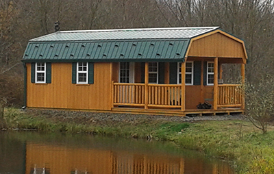 Custom structure built by Pine Creek Structures