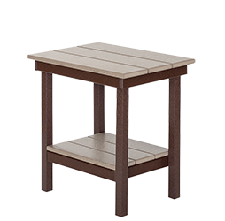 Pine Creek Structures Outdoor Patio Furniture - Poly Captain Table