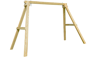 Pine Creek Structures Outdoor Patio Furniture - wooden a-frame
