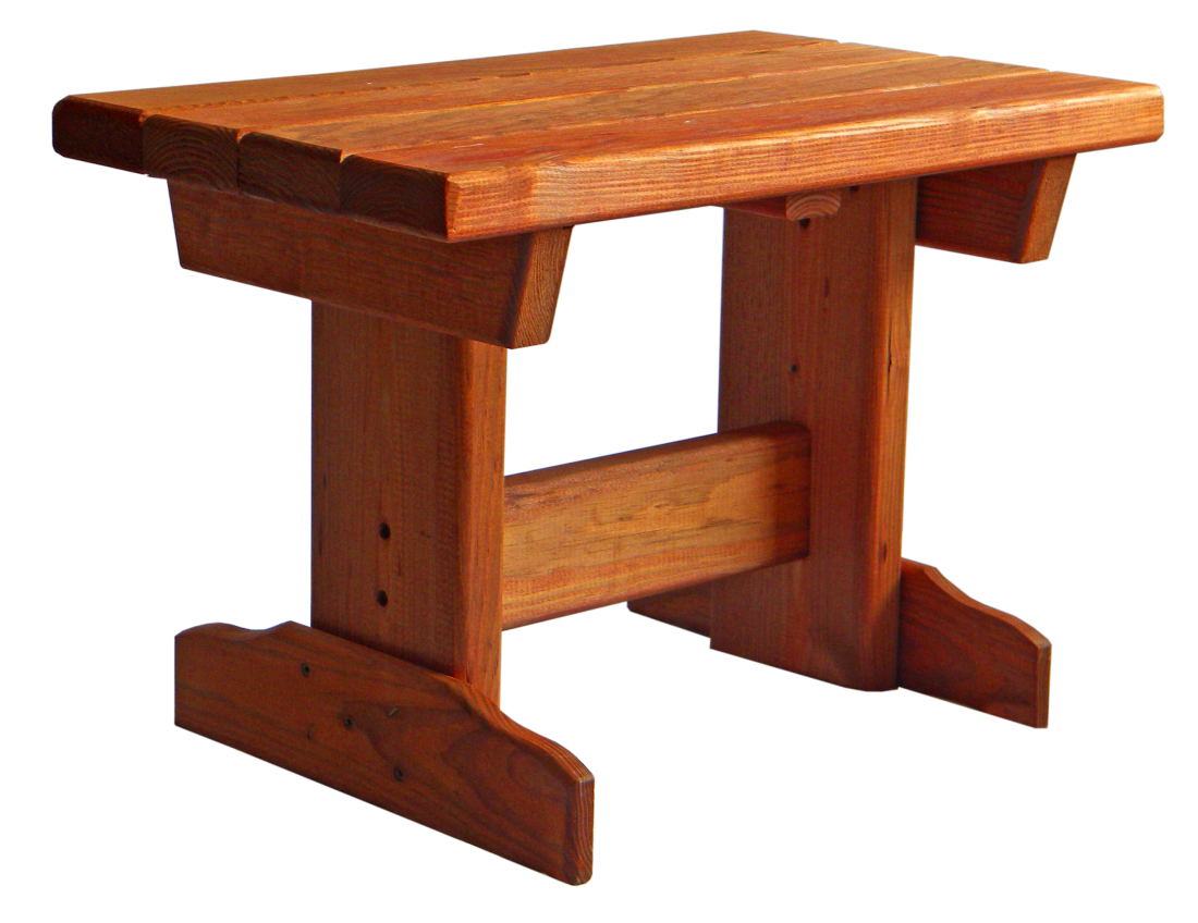 Outdoor patio furniture pine creek structures for Outdoor furniture end tables
