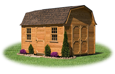 10 x14 Gambrel Barn with LP Smart Side