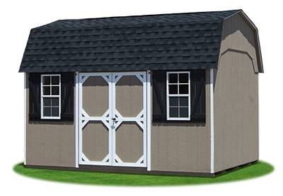 vinyl dutch storage shed